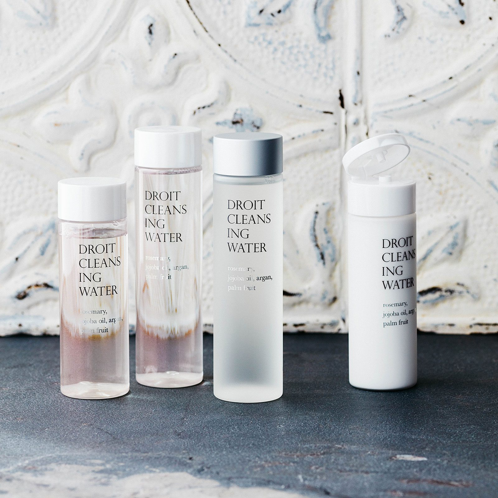Droit Ō–粧品容器のツバキスタイル