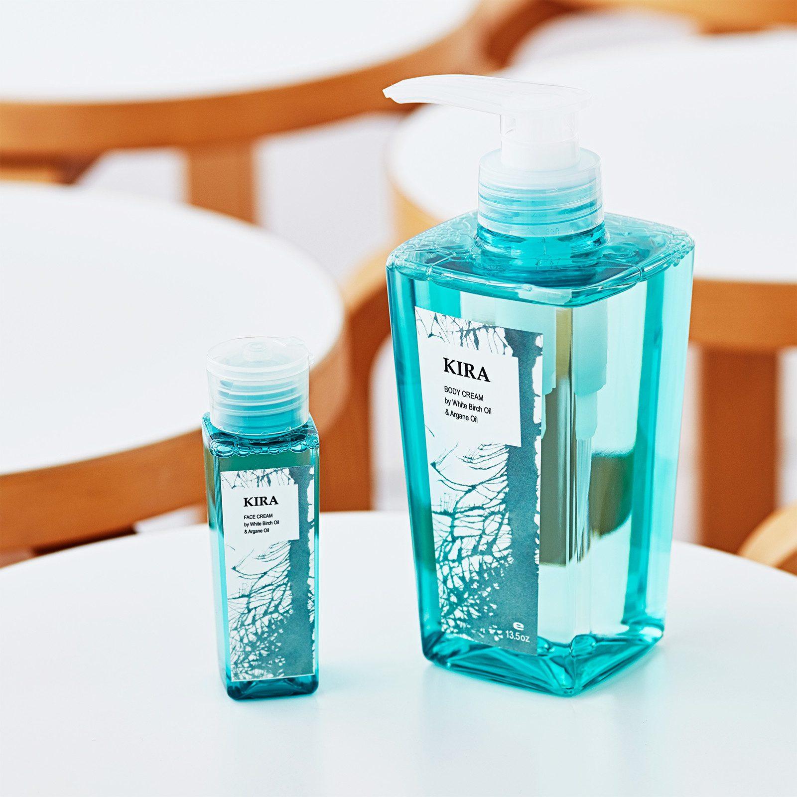 化粧品容器 (KIRA)